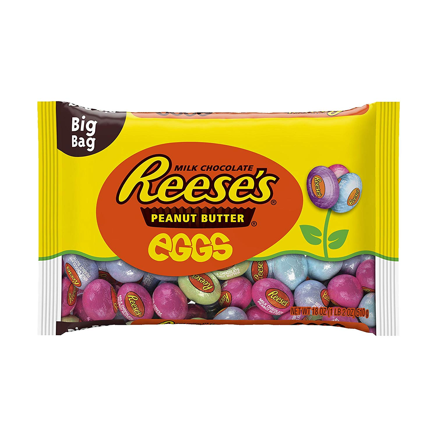 Reese's Milk Chocolate Peanut Butter Eggs (510g)-0