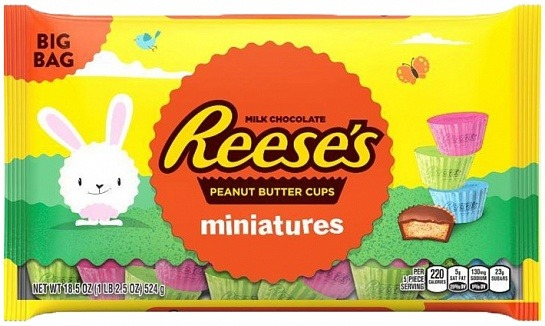 Reese's Easter Milk Chocolate Peanut Butter Cups Miniatures (524g)-0