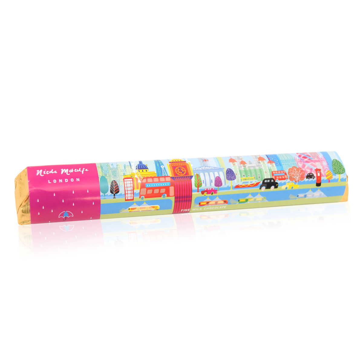 "House of Dorchester ""Metacalfe"" London Chocolate Bar (85g)-0"