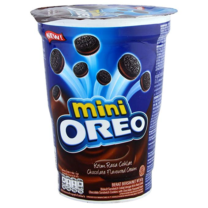 Oreo Mini Chocolate Flavoured Cream (61g)-0