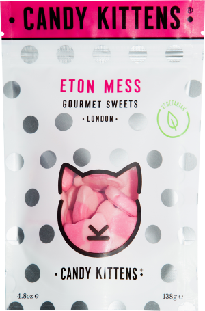 Candy Kittens Eton Mess Vegetarian Recipe (138g)-0
