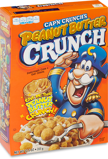 Cap'n Crunch Peanut Butter Crunch (355g)-0
