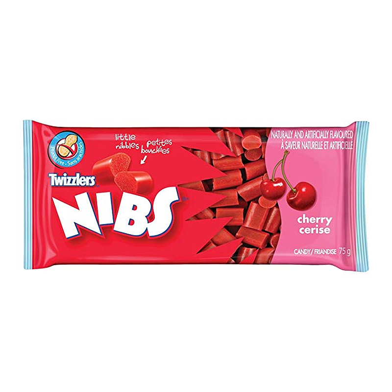 Twizzlers Nibs Cherry (75g)-0