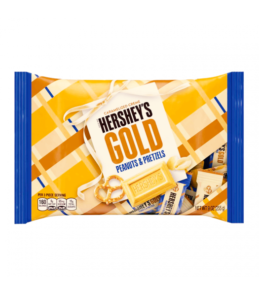 Hershey's Peanuts and Pretzels Caramelized Creme 198g-0