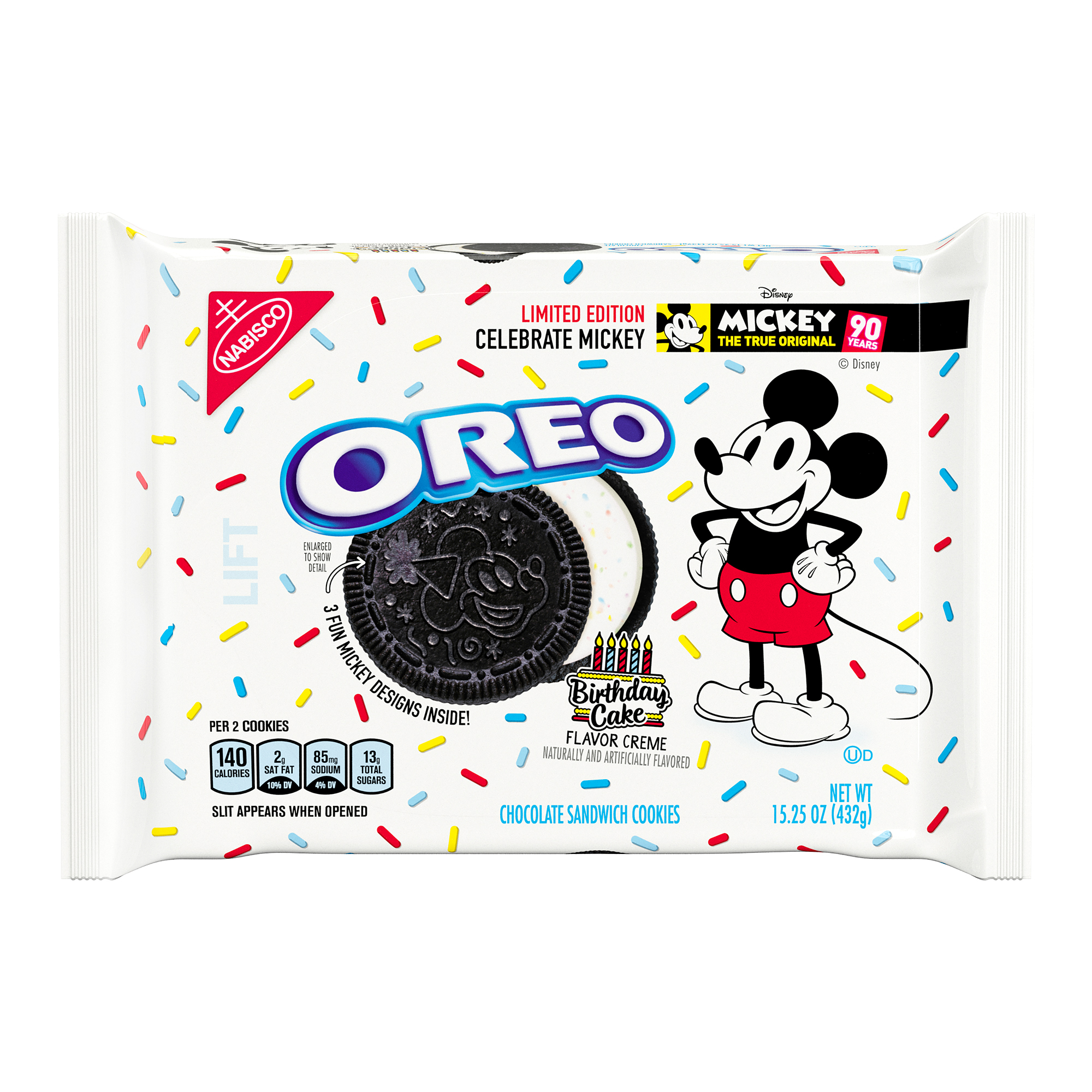 Oreo Birthday Cake - Mickey Mouse Limited Edition (432g)-0