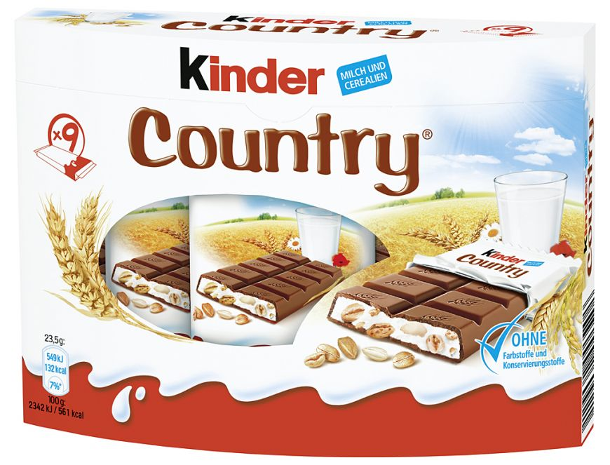 Kinder Country Bars (200g)-0