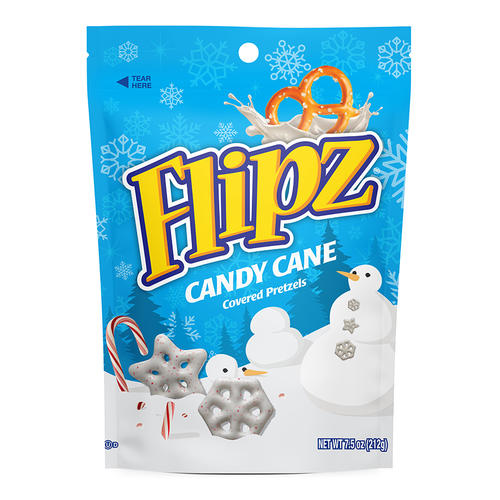 DEMET'S FLIPZ CANDY CANE COVERED PRETZELS (212G)-0