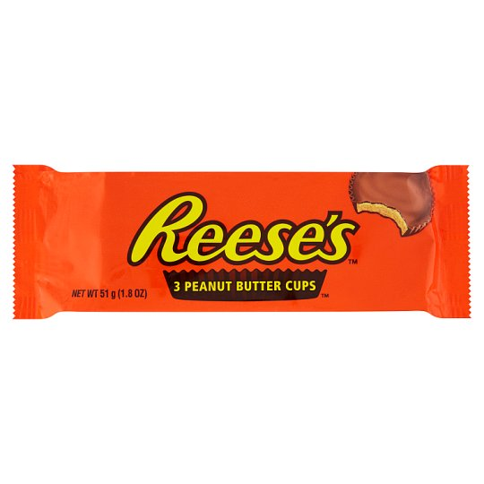 Reese's 3 Peanut Butter Cups (51g)-0