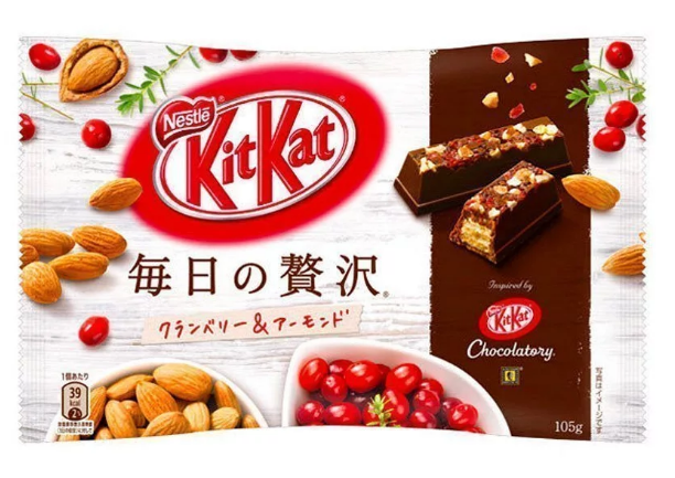 NESTLÉ Kit Kat Almond and Cranberry Luxury Edition (109g)-0