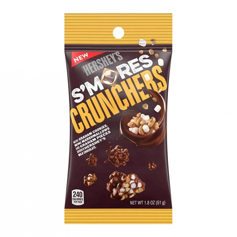 Hershey's S'mores Crunchers (51g)-0
