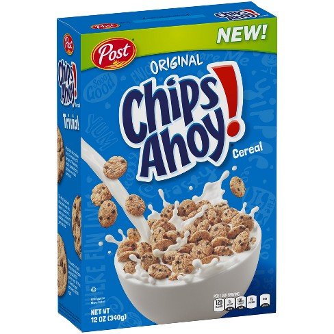 Post Chips Ahoy! Cereal (340g)-0