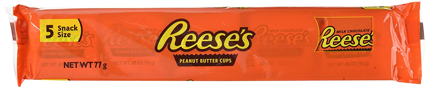Reese's Peanut Butter Cups 5 Snack Size (77g)-0