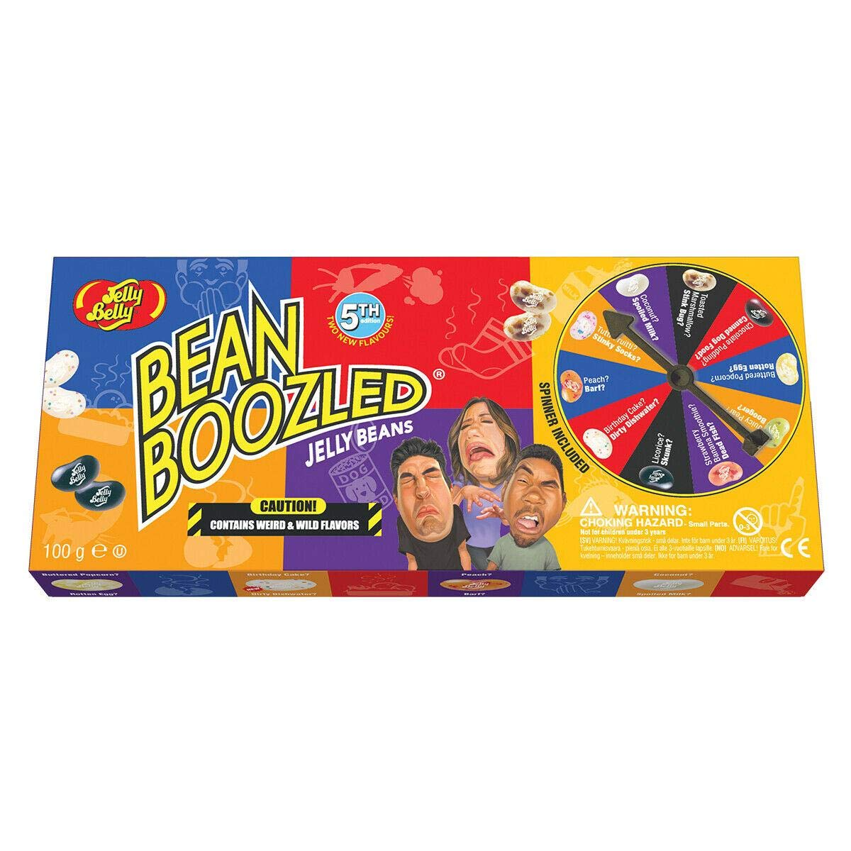 Jelly Belly Bean boozled 5TH Edition Spinner Wheel (100g)-0