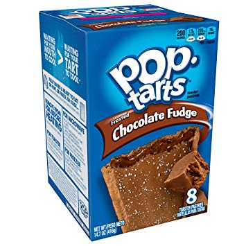 KELLOGG'S POP TARTS Frosted Chocolate Fudge (416g)-0