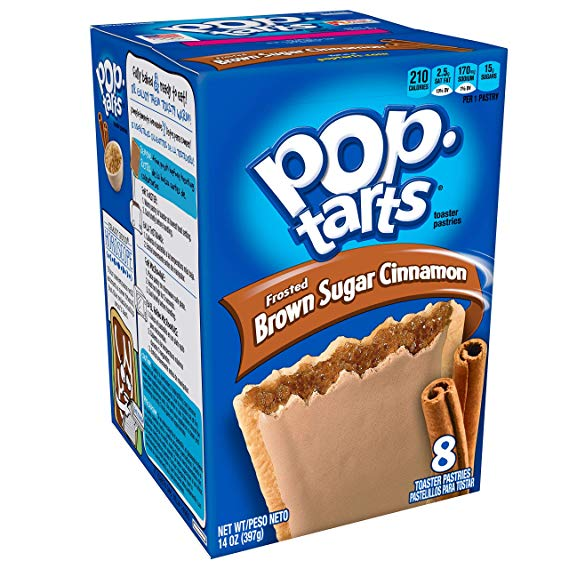 KELLOGG'S POP TARTS Frosted Brown Sugar Cinnamon (397g)-0