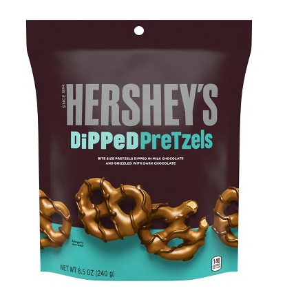 Hershey's Dipped Pretzels (240g)-0