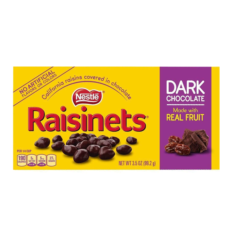 Nestle Raisinets Dark Chocolate (99g)-0
