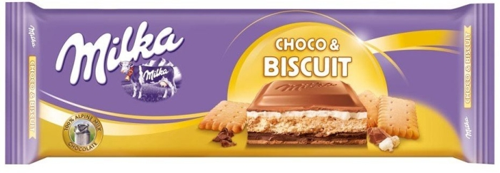 Milka Choco and Biscuits (300g)-0