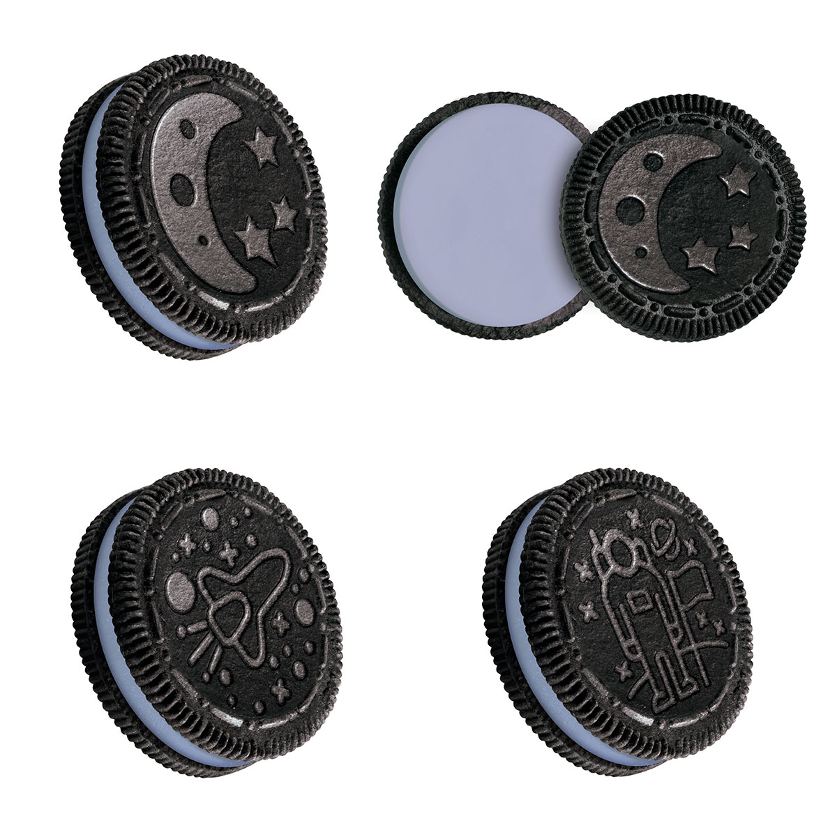 Oreo Marshmallow Moon Biscuit (303g)-9201