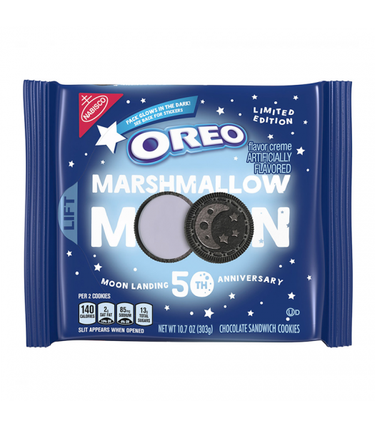 Oreo Marshmallow Moon Biscuit (303g)-0