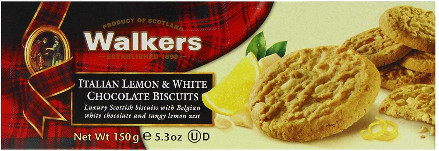 WALKERS ITALIAN LEMON & WHITE CHOCOLATE BISCUITS (150G)-0