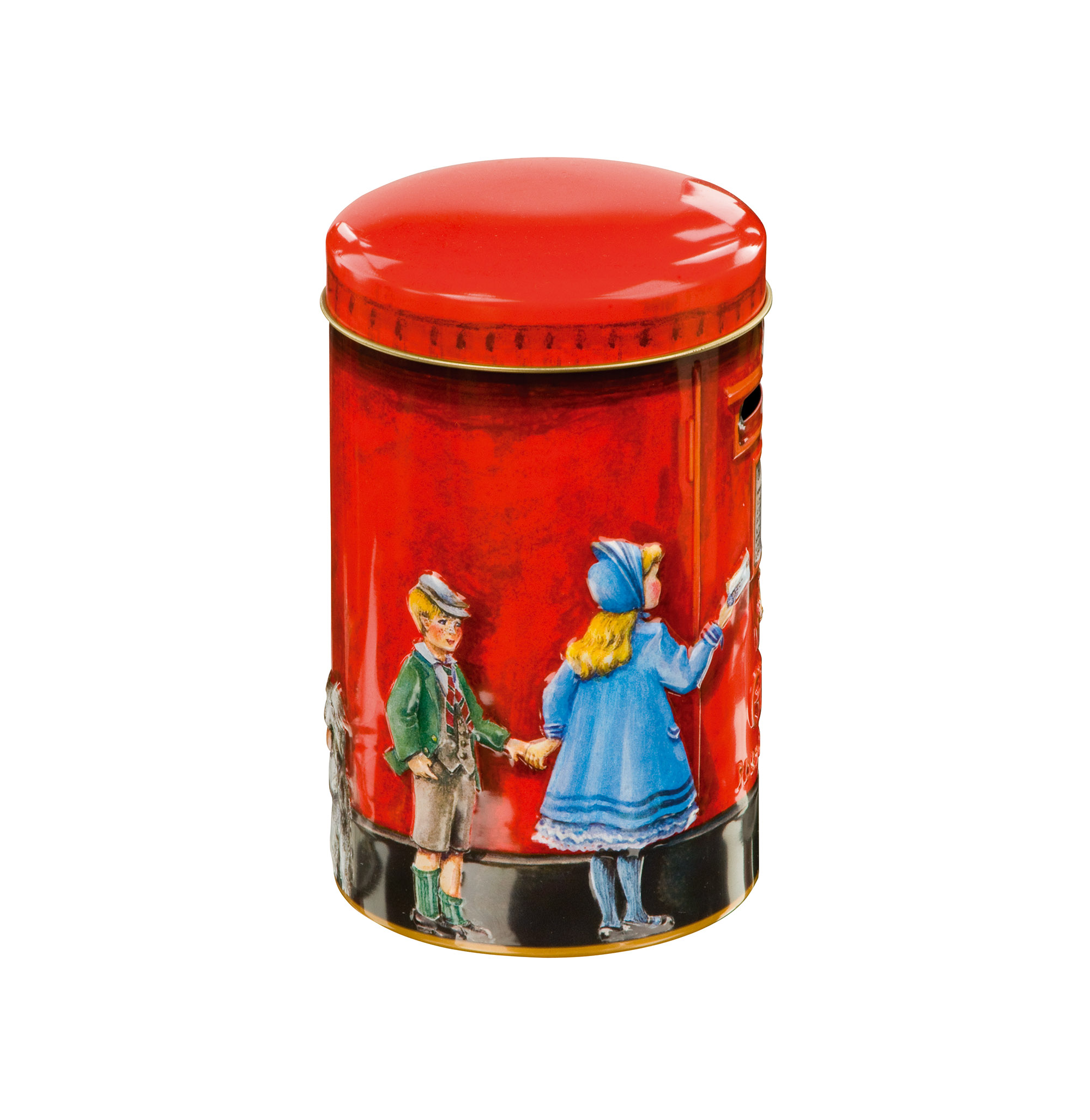 Churchill's Post Box Money Box with Toffees (200g)-7106