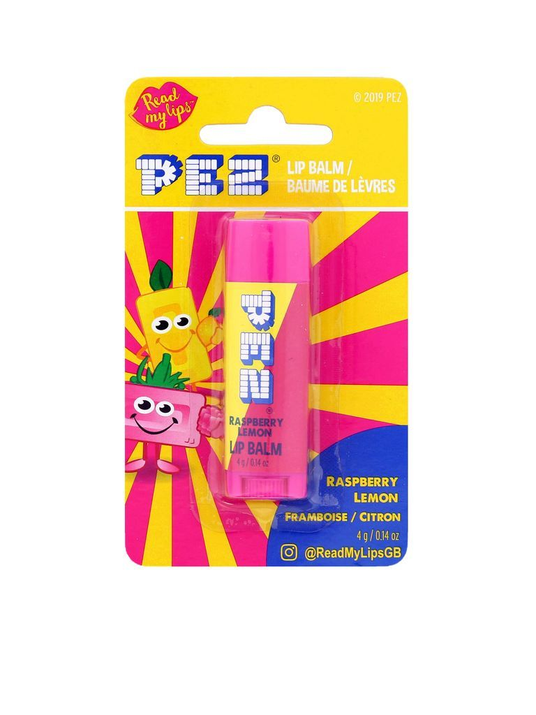 PEZ raspberry & lemon LIP BALM (4G)-0
