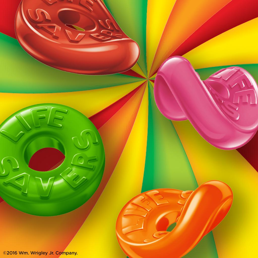 Life savers 5 Flavours Gummies Share Size Pack (119G)-9014