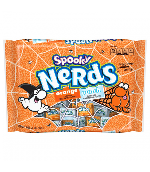 NERDS SPOOKY HALLOWEEN MINIS ORANGE & PUNCH (708G)-0