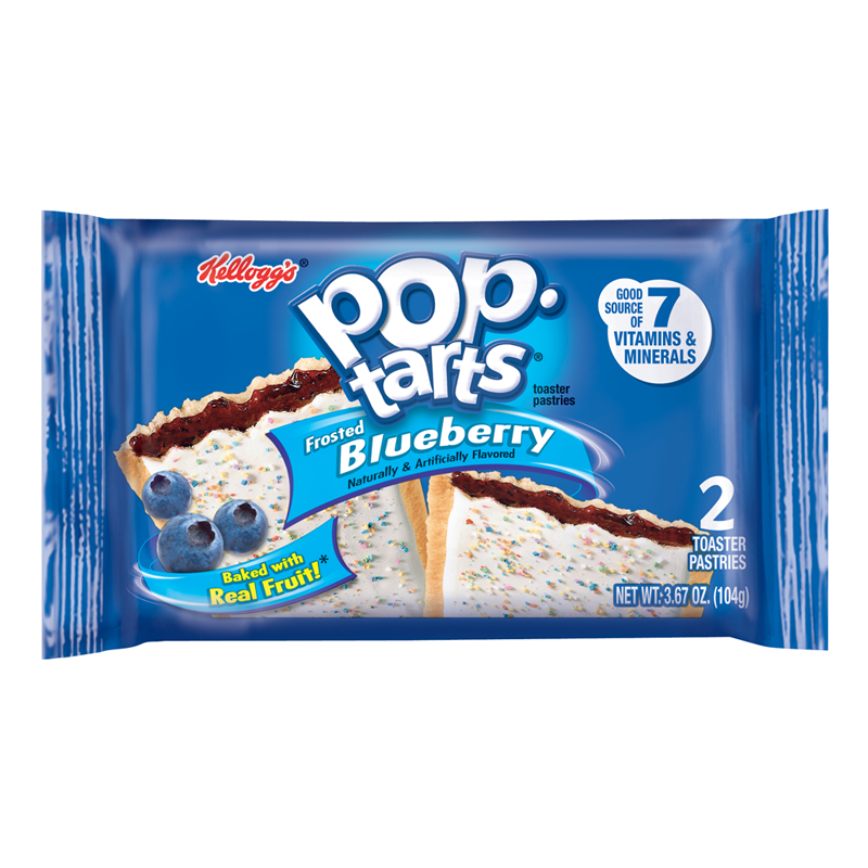 Kellogg's Pop Tarts Frosted Blueberry (104g)-0