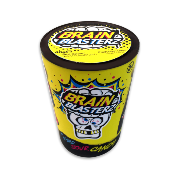 BRAIN BLASTERZ MEGA SOUR HARD CANDY (48G)-0