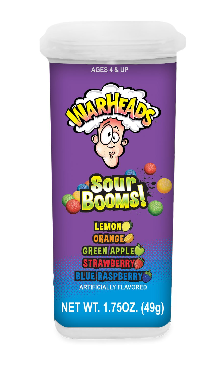 Warheads Sour Booms (49g)-0