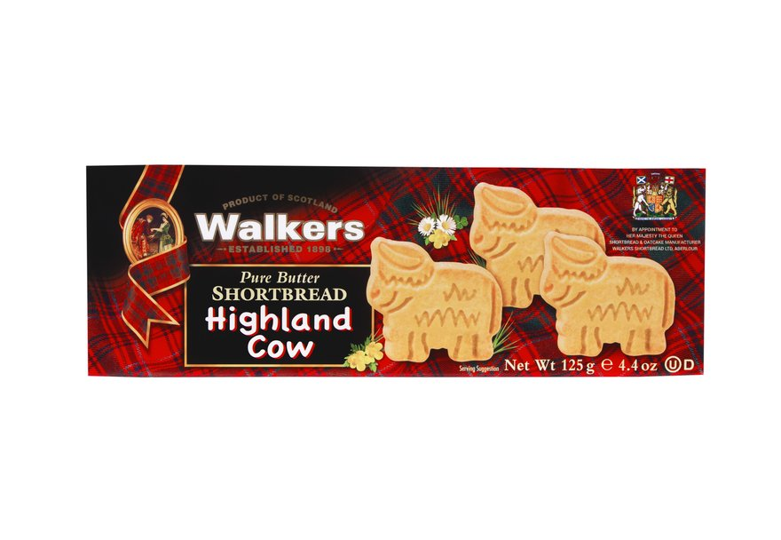 Walkers Highland Cow Shortbread (125g)-0
