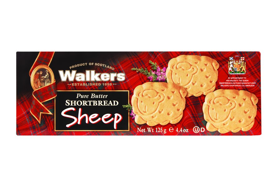 Walkers Sheep Shortbread (125g)-0