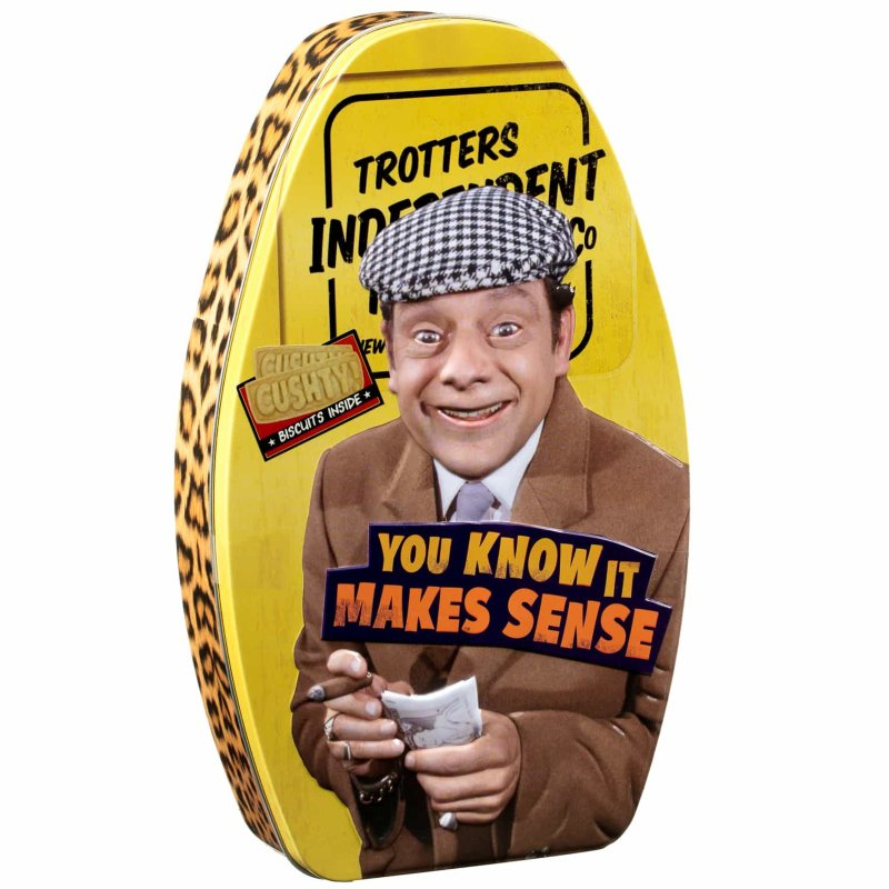 Only Fools & Horses Biscuit Tin - You Know It Make Sense (120g)-0