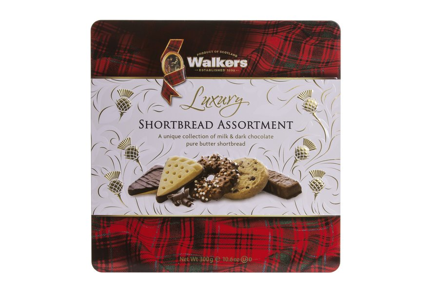 Walkers Luxury Shortbread Assortment Tin (300g)-0