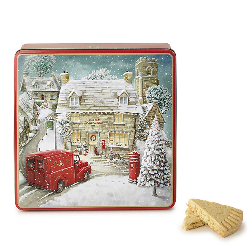 Grandma Wild's Winter Village Shortbread Biscuit Tin (400g)-0