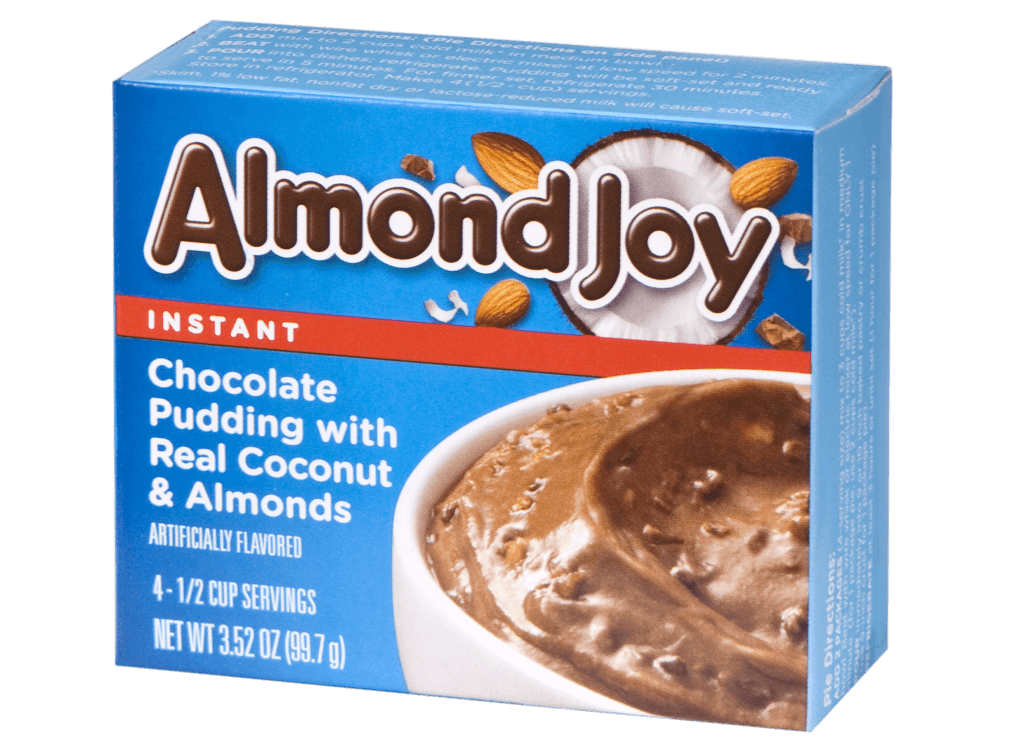Almond Joy Instant Chocolate Pudding with Real Coconut & Almonds (99g)-0