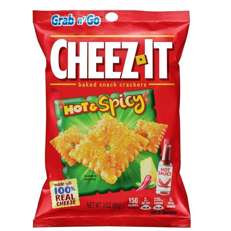 CHEEZ-IT CRACKERS HOT & SPICY (85g)-0