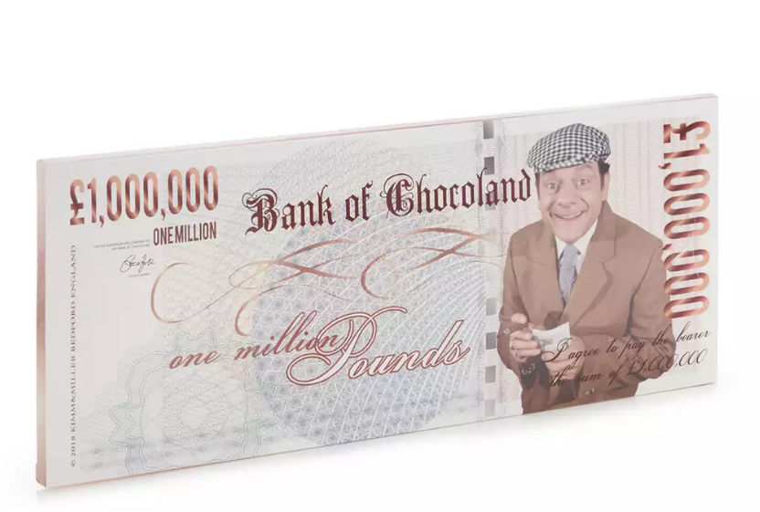 Only Fools & Horses GOLD £1M MILK CHOCOLATE BARS (270G)-7822