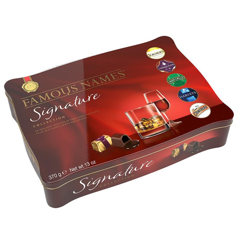 FAMOUS NAMES SIGNATURE COLLECTION TIN (370G)-0