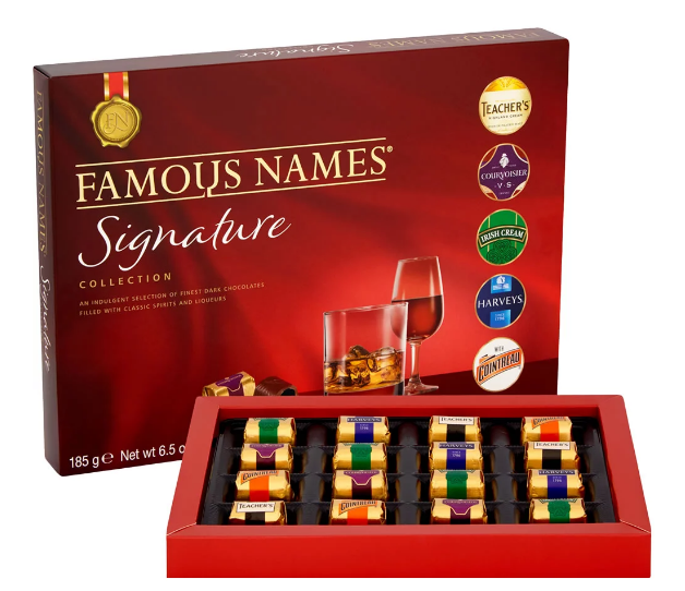 FAMOUS NAMES SIGNATURE COLLECTION (185G)-7752