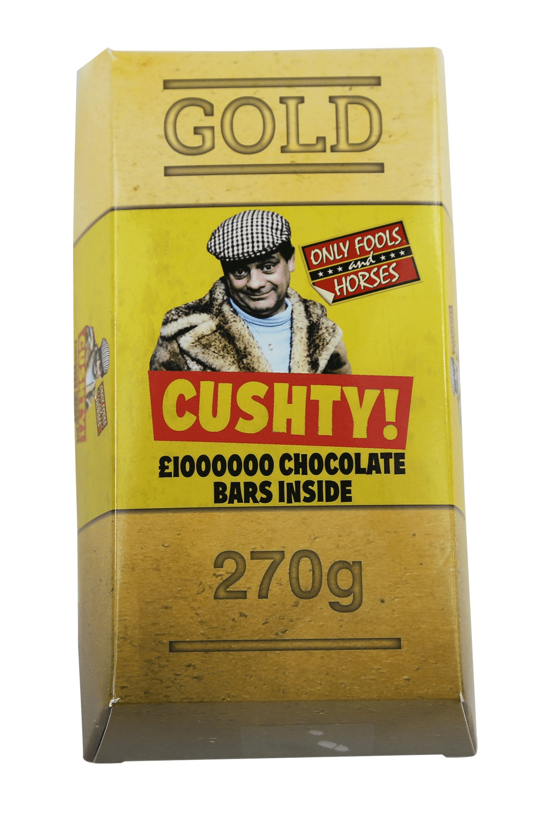 Only Fools & Horses GOLD £1M MILK CHOCOLATE BARS (270G)-0