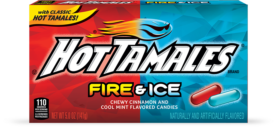 Hot Tamales Fire & Ice (141g)-0