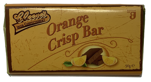CLEEVE'S ORANGE CRISP BAR (50G)-0