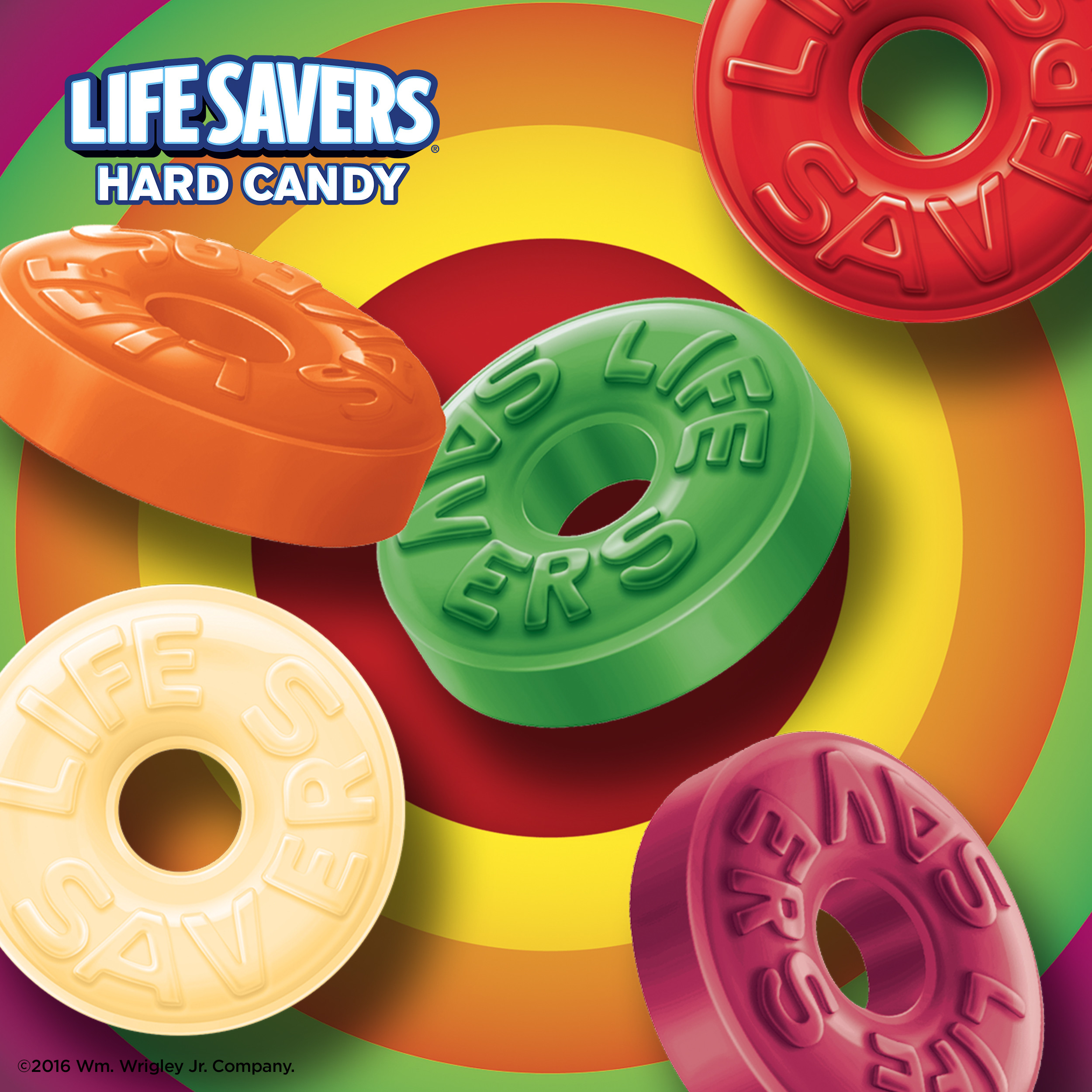 Life savers hard candy 5 flavours (177g)-9009