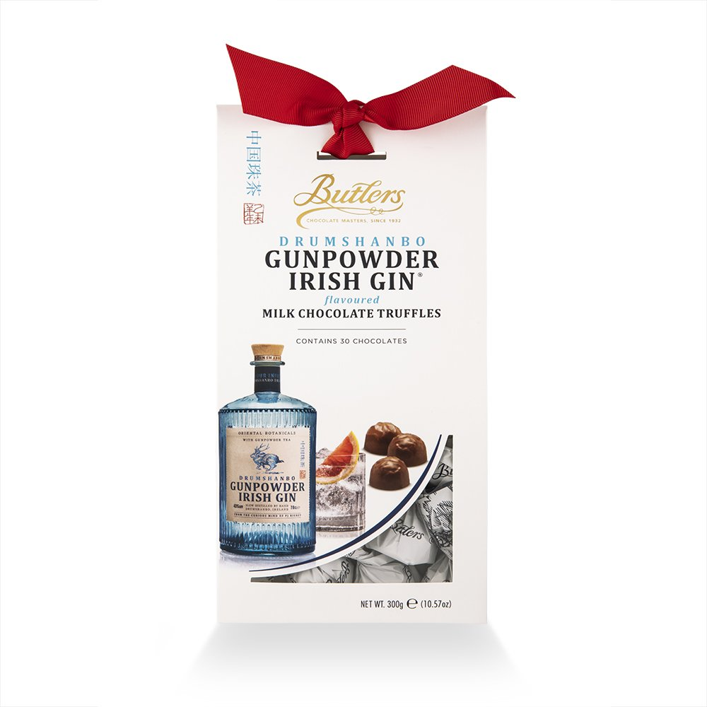 BUTLERS DRUMSHANBO GUNPOWDER IRISH GIN® CHOCOLATE TRUFFLES (300G)-0