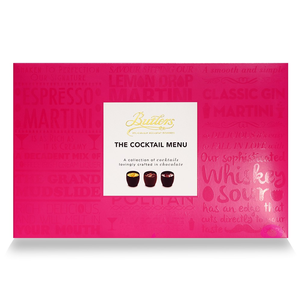 BUTLERS THE COCKTAIL MENU (260G)-0