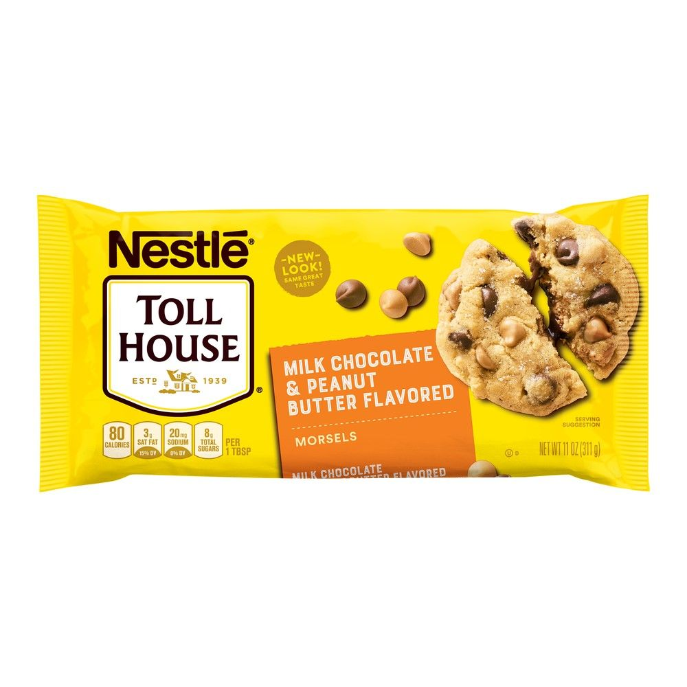 Nestle Toll House Milk Chocolate & Peanut Butter Morsels (311g)-0