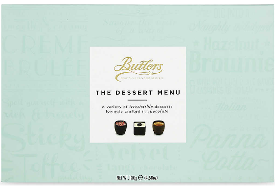 BUTLERS THE DESSERT MENU (130G)-0